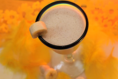 Voir la recette du cocktail Bananarama
