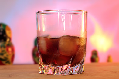 Voir la recette du cocktail Black russian