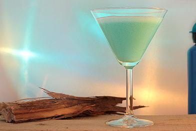 Voir la recette du cocktail Blue agave